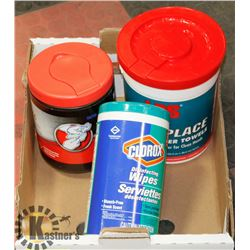 MIXED BOX OF INDUSTRIAL CLEANING WIPES