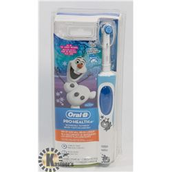 BAG OF ORAL B PRO HEALTH KIDS ELECTRIC TOOTHBRUSH