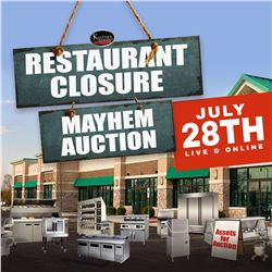 CHECK OUT THE UPCOMING RESTAURANT EQUIPMENT AUCTION