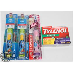BAG OF TOOTHBRUSHES SOLD WITH TYLENOL SINUS