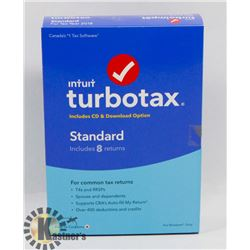 TURBO TAX STANDARD FOR 2018 TAX YEAR