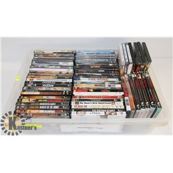 LOT OF ASSORTED DVDS INCL WESTERNS, SOME WAR &