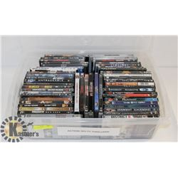 LOT OF ASST DVDS INCL ACTION, SCI FI, THRILLERS,