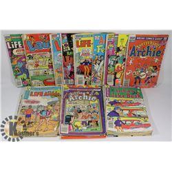 FLAT OF 30+ ARCHIE COMICS