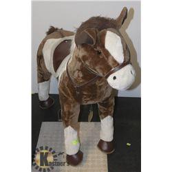 LARGE TOY HORSE