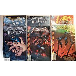4)  LOT OF 6 VINTAGE DC COMICS INCLUDING
