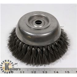 "OSBOURN 6"" KNOTTED WIRE BRUSH"