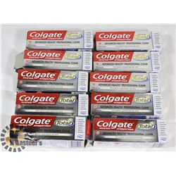 BAG OF COALGATE TOOTHPASTE