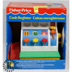 VINTAGE FISHER PRICE CASH