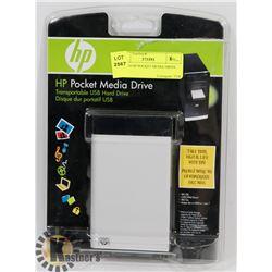 SEALED HP POCKET MEDIA DRIVE