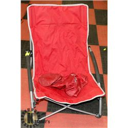 EDDIE BAUER PACKABLE CAMP CHAIR