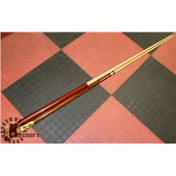 LOT OF TWO POOL CUES