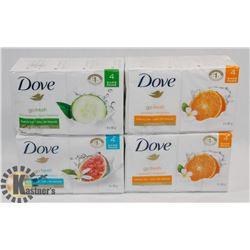 BAG OF DOVE BAR SOAP