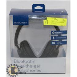 INSIGNIA BLUETOOTH OVER THE EAR HEADPHONES