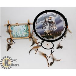 DREAM CATCHERS WITH ANIMAL IMAGES