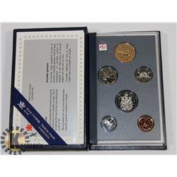 1993 CANADA SPECIMEN COIN SET