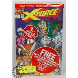 X-FORCE #1 COLLECTOR'S COMIC WITH DEADPOOL CARD