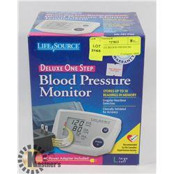 LIFESOURCE BLOOD PRESSURE MONITOR