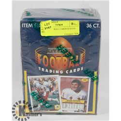 FLEER FOOTBALL CARDS SEALED BOX 1992
