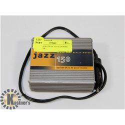 JAZZ 150 WATT DC TO AC POWER INVERTER