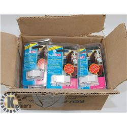 BOX OF CHILD SAFETY CABINET LOCKS