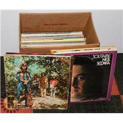 BOX OF LPS INCL CREEDENCE CLEARWATER REVIVAL