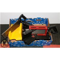 MAGIC MITRE WITH HAND SAW WITH YELLOW STANLEY