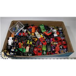 FLAT OF DINKY CARS