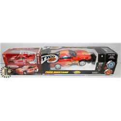 FLAT WITH TYCO R/C FORD MUSTANG MATTEL 6V DUAL
