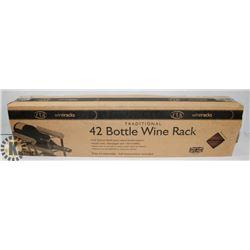 42 BOTTLE WINE RACK