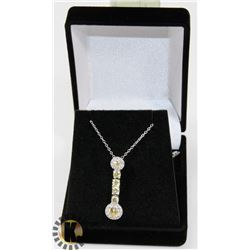 #11-CUBIC ZIRCONIA NECKLACE & PENDANT