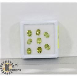 #88-GENUINE PERIDOT LOOSE GEMSTONE  6.5CT