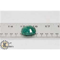 #63-GREEN  EMERALD GEMSTONE  76.5CT