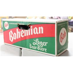 UNOPENED BOHEMIAN LAGER VERY OLD,  NOT FOR