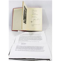 AUTOGRAPHED GREY OWL BOOK 1935 FIRST EDITION.