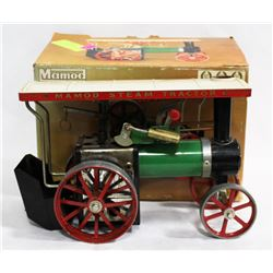VINTAGE MAMOD STEAM TRACTOR WITH BOX