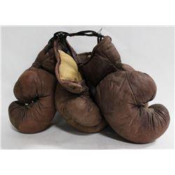 ANTIQUE BOXING GLOVES