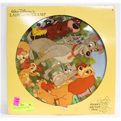 VINTAGE 1980 LADY AND THE TRAMP - DISNEY