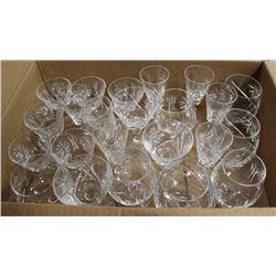 24 PINWHEEL GLASSES