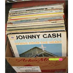 BOX FULL OF COLLECTIBLE COUNTRY & ROCK'N