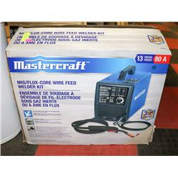 MASTERCRAFT MIG/FLUX CORE WIRE FEED WELDER KIT