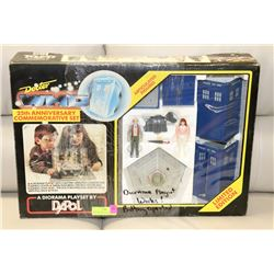 DAPOL DOCTOR WHO 25TH ANNIVERSARY DIORAMA PLAYSET