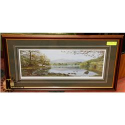 """RYDAL WATER"" PENCIL SIGNED BY K.MELLING"