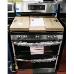 GE STAINLESS STEEL DOUBLE OVEN GAS WITH CONVECTION