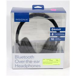 INSIGNIA BLUETOOTH OVER EAR STYLE HEADPHONES