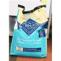 BLUE BUFFALO LARGE BREED DOG FOOD 20LBS EXP. 2020