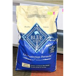 BLUE BUFFALO ADULT DOG FOOD CHICKEN + BROWN RICE