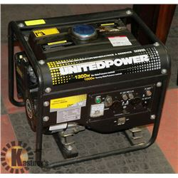 UNITED POWER 1300 WATTS MAX 1000W RUNNING GASOLINE
