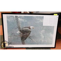 "FRAMED ROBERT BATEMAN ""THE AIR, THE FOREST AND THE"