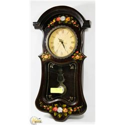 WORKING PENDULUM CLOCK.